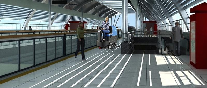 地铁站清洁解决方案