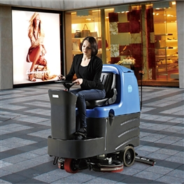 兰州容恩驾驶洗地车[R125BT85]容恩驾驶式洗地机价格