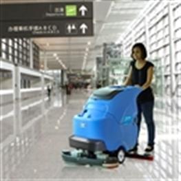 石家庄容恩全自动洗地机(R85BT)_石家庄手推式洗地机