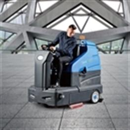石家庄容恩高速洗地车[R180]容驾驶洗地车,大型洗地机
