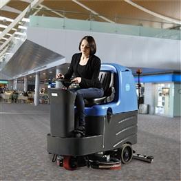 容恩洗地车(R125BT70)_驾驶式洗地机