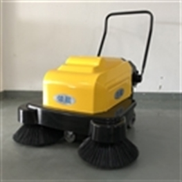 依晨手推式扫地车YZ-10100|工厂车间吸粉尘用电动吸尘清扫机