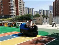 石家庄洗地机用于清洗塑胶地面案例