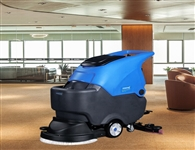 南宁洗地机的出现改变传统的人工清洁