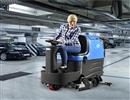 物业小区的车库要使用驾驶式洗地机?